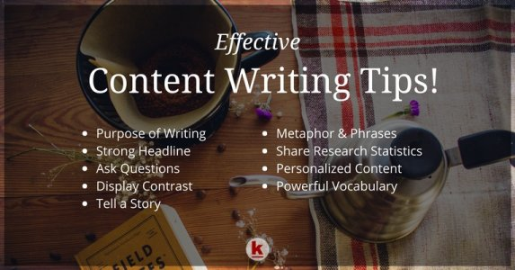Powerful Content Writing Tips!