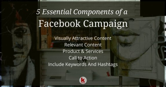 5 Essential Components of a Successful Facebook Campaign