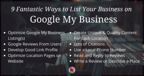 Google My Business (3-Pack) Listing Process