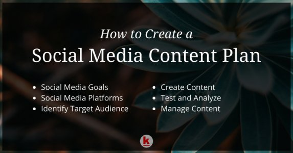 6 Step Guideline for Social Media Content Plan