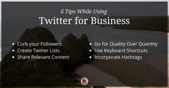 Things to Keep in Mind While Using Twitter for Business