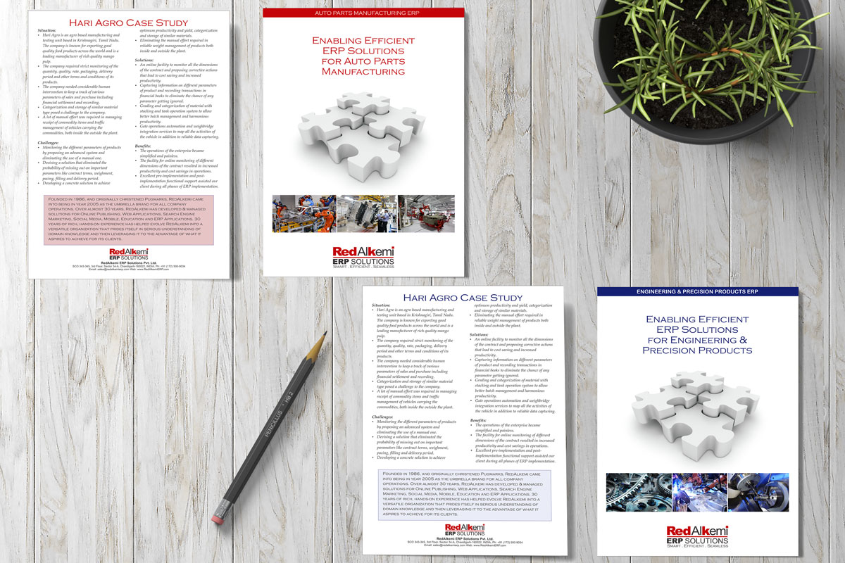 Companies Case Study Brochure Designs