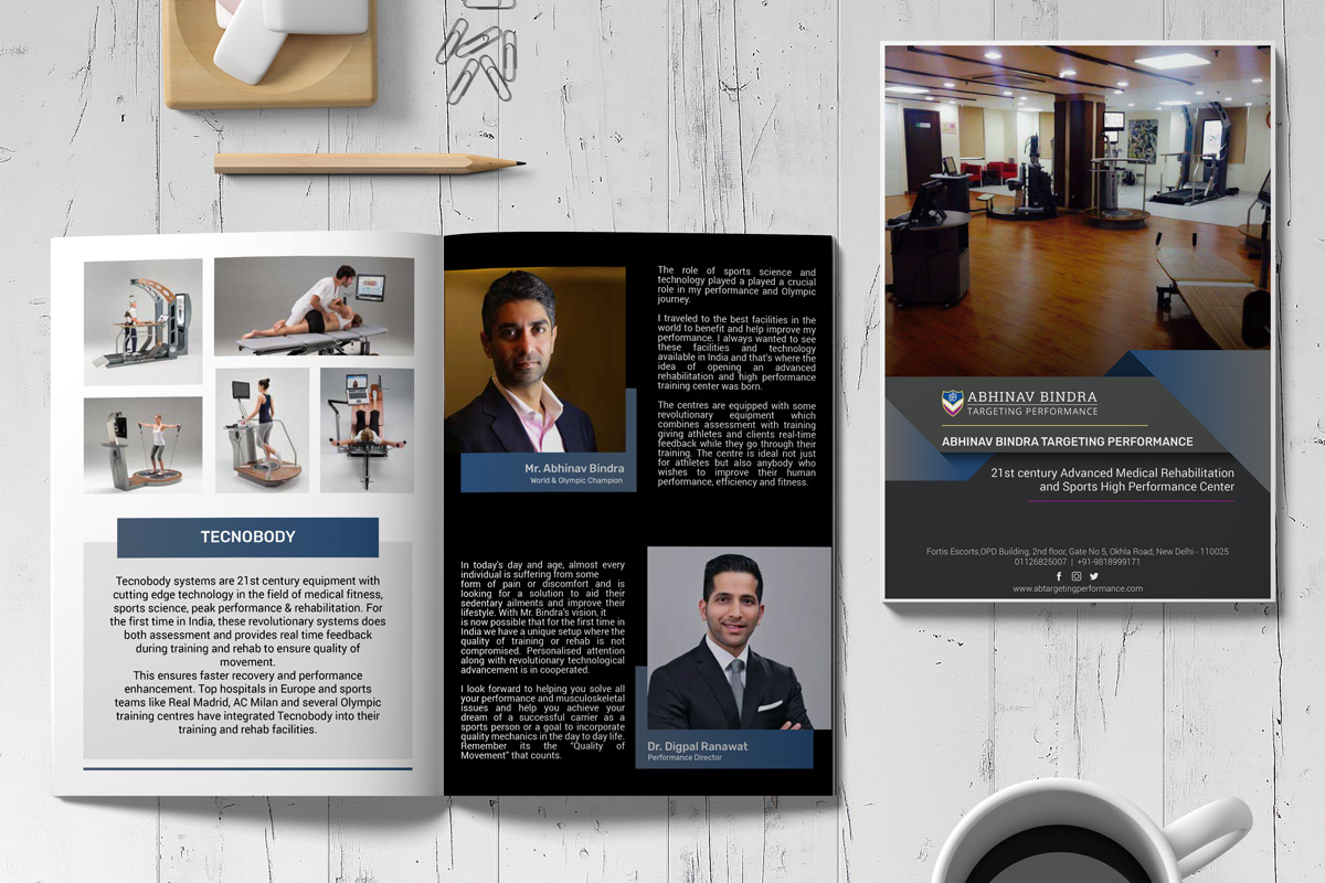 Fitness Company Brochure Design