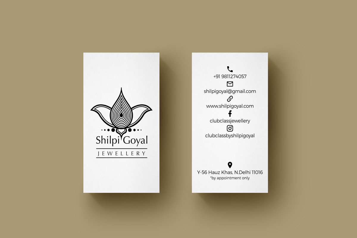 Stationery Design for Jewellery Business